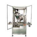 Stainless steel Rotary type Spices Powder jar packing machine