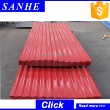 Low price zinc coated corrugated steel sheet wall plate/roofing plates pile