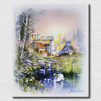 Factory product oil painting wholesale prints and framed art work