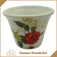 Personalized Home Goods Flower Pots With