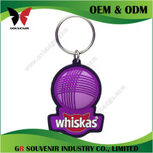 New promotional products blank metal coin holder keychain wholesale