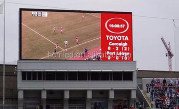 P10 IP65 10000 front access resolution full color outdoor led display
