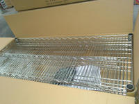 NSF & ISO Approved Chrome Plated Commercial Wire Shelving