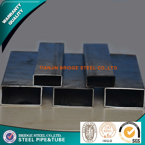 chinese supplier manufacturing black powder coating 50mmx50mm square tube steel oiling or painting