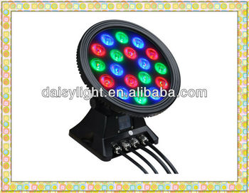 Outdoor Wall Washer Light RGB Mixing