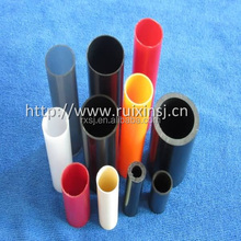 RX-0033 transparent PVC square plastic tube pipe