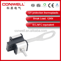 IEC equivalent KW161 anchoring clamp electrical connector joint wire