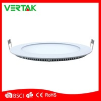 stable quality high lumen led panel light round