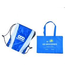 top quality 420d polyester nylon folding tote bag