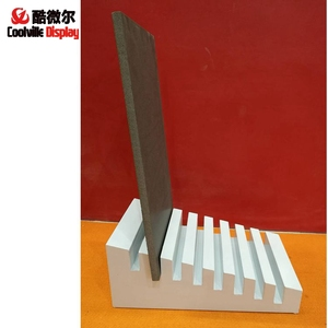 Slotted Stone Sample Displays Hardwood Flooring Racks Showroom Tiles Display Stands
