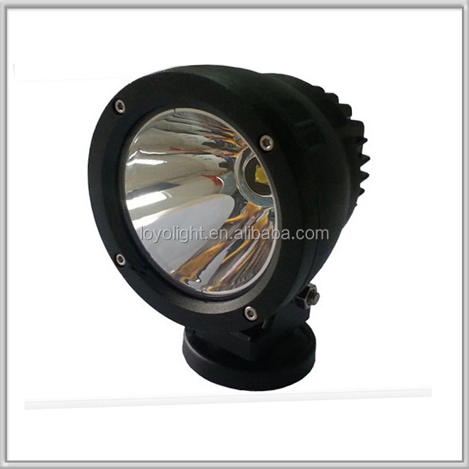 2015 New arrival High quality 12v 4 inch car led Lights 25w COB led spot driving light for cars