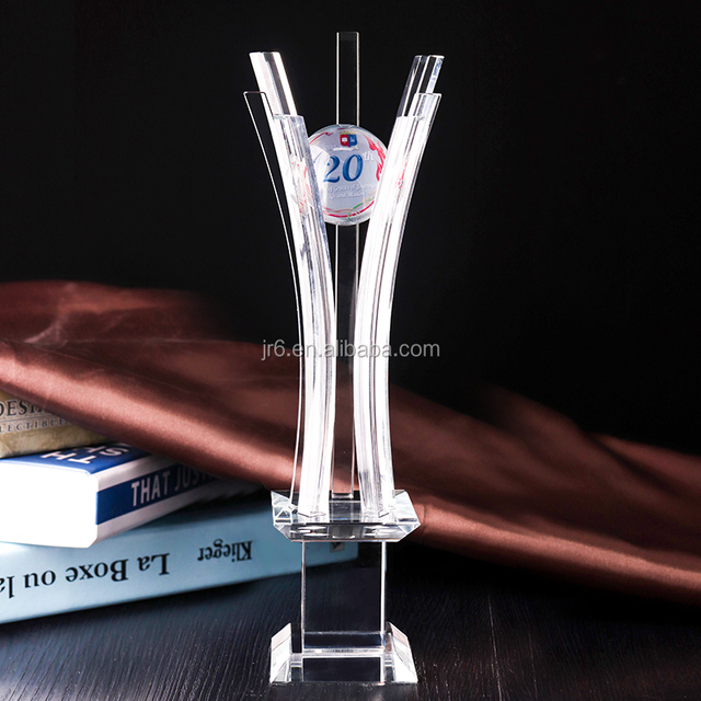 Hot sell New design Crystal unique sports trophy for souvenir gifts