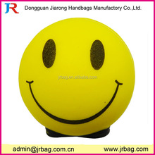 Cute smiling foam antistress ball toys
