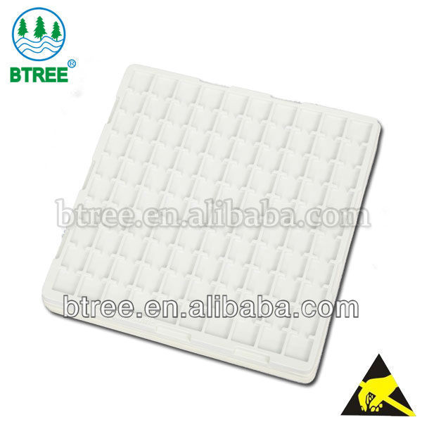 Btree ESD Antistatic&Conductive Large Plastic Tray For PCB Board