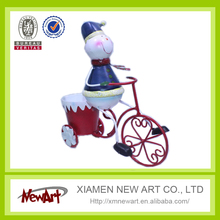 Snowman in bcycle metal christmas product