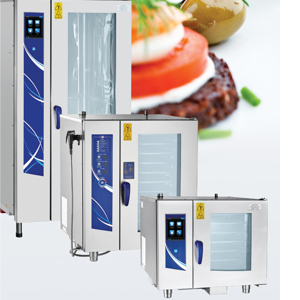 AISI 304 Combi Steam Oven