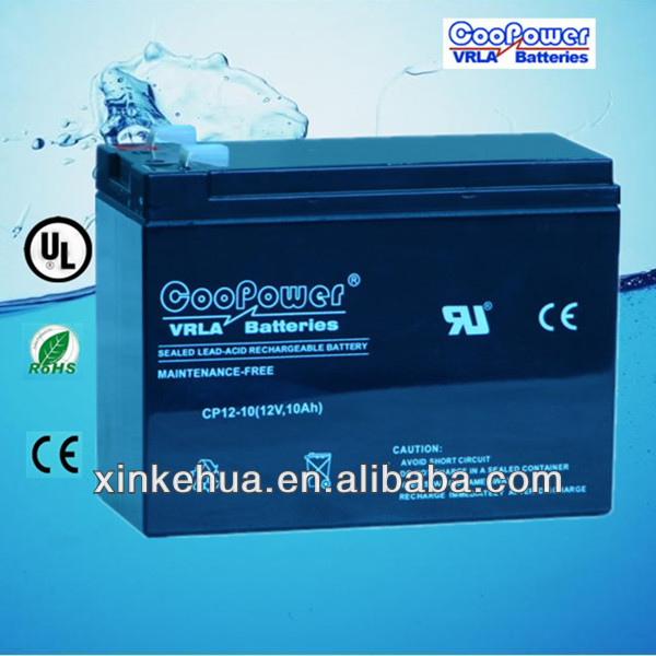 Battery 6-DZM-10 /Rechargeable battery /12V10AH