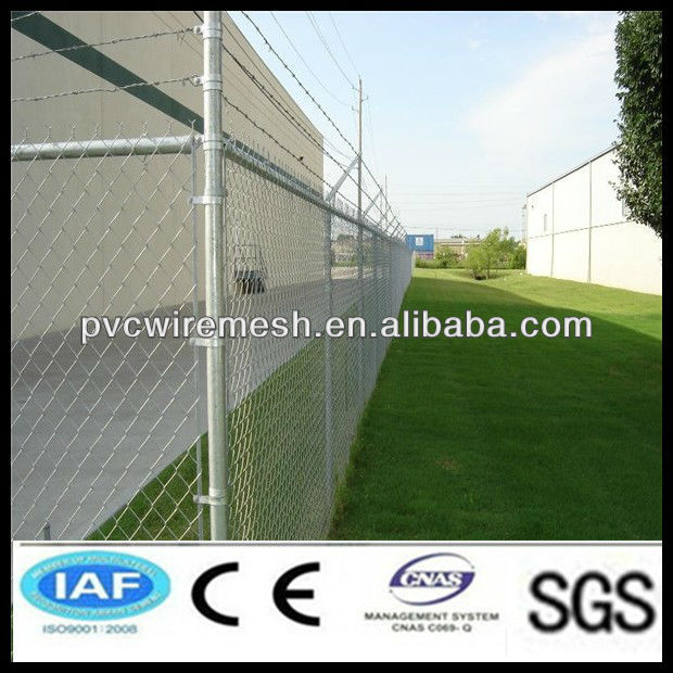 china alibaba pvc coated chain link fence ,protection mesh fence for playground,garden,zoo,building.