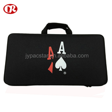 Large capacity foam protective handle carrying plastic hard case