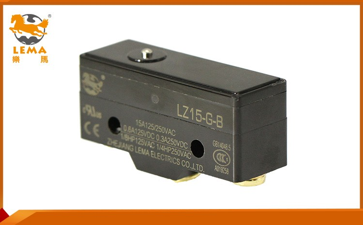 LZ15-G-B mechanical lever latching solder terminal z series micro switch