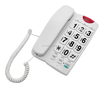 Tone/ Pulse switchable big keypad elderly phone with hands free speaker with big button phone