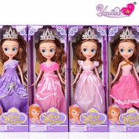 Hot Cartoon dolls Sofia The First Plastic doll for girls, Baby dolls wholesale price