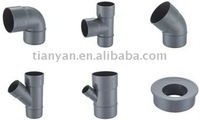 DIN PVC DRAINAGE FITTINGS PIPES FOR WASTE