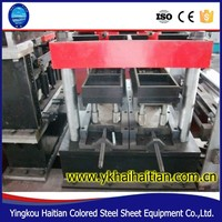 fully automatic cold steel strip profile c z purlin roll forming machinery