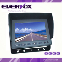 motorized 3 channel 5 inch lcd monitor with av input and built-in speaker