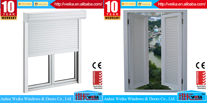 2015 New design low price bullet proof window roller shutter