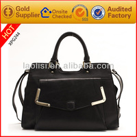2014 new arrival leather ladies bags woman hand bag made in china