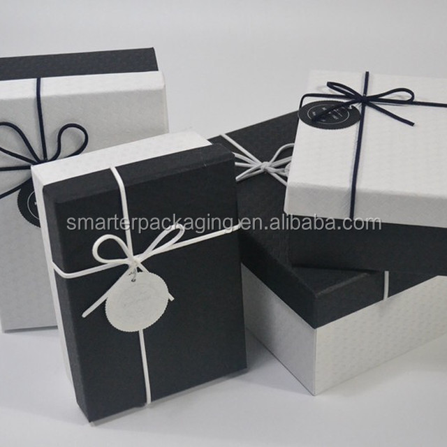 2017 Fashion Packaging Watch Box Cardboard Gift Box with bowknot