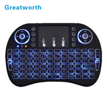 2017 Hot Wireless Keyboard Rii i8 fly Air Mouse Handheld bluetooth Keyboard for TV BOX PC Laptop