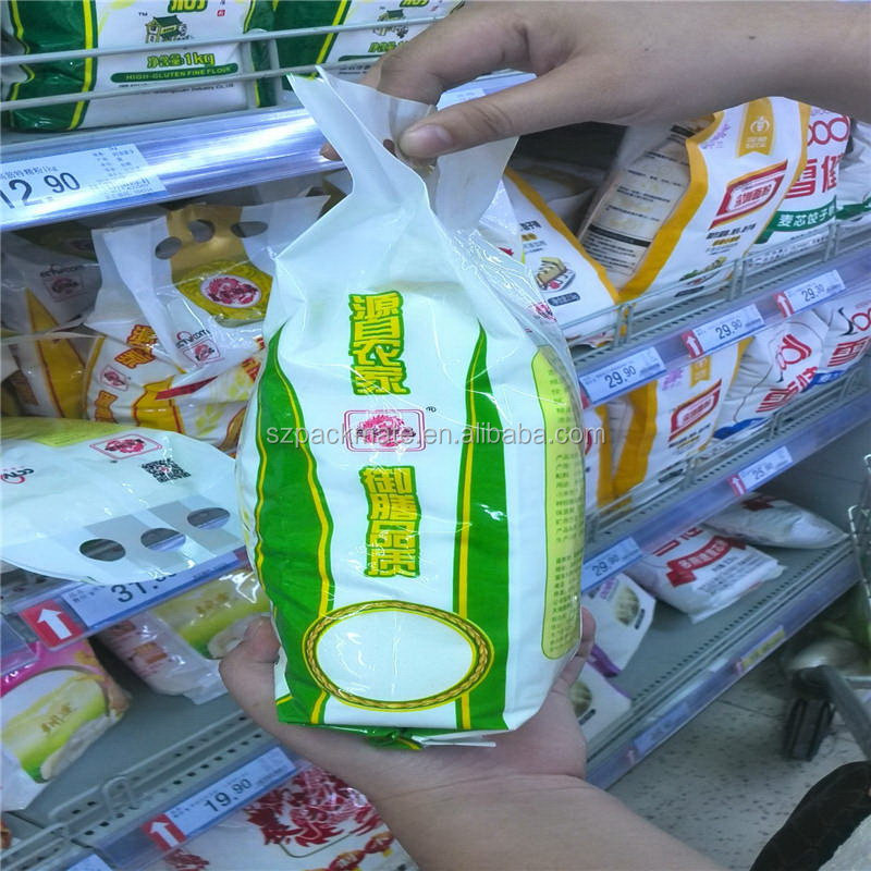 Durable Crazy Selling 5kg 10kg rice packaging bag vacuum