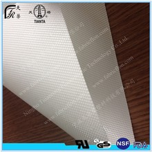 PTFE coated heat resistant fabric by fiberglass substrate