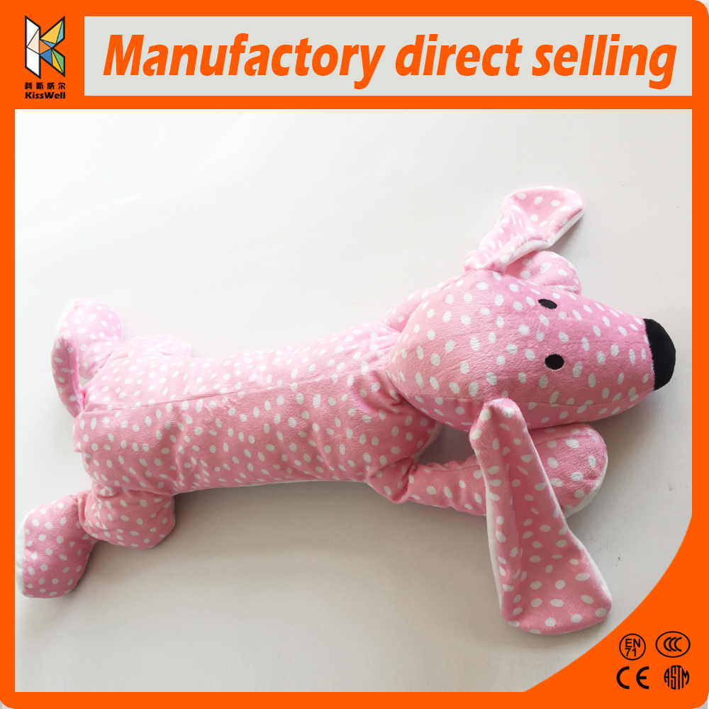Soft Toys Susi lovely Pink Poodle dog Soft Toy Finished in a light Pink shaggy plush on her face and paws