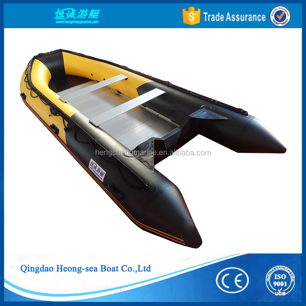 large heavy-duty work boat rescue emergency folding boat