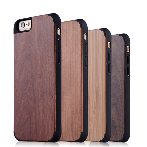 2016 hot sale various colors wood case back cover for htc one m7