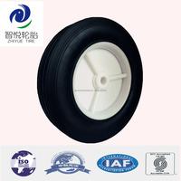 Wheel 200mm solid rubber wheel garden trailer wheels