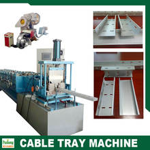 factory near guangzhou c channel steel roll forming machine new developed cable tray roll forming machine