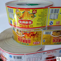 Economic new products permanent metal sticker label