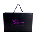 cutomized factory price fancy printed kraft paper clothing packaging bag with logo printing