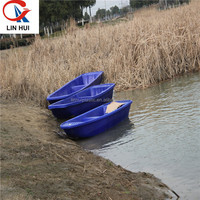 Hot sale good performance small hard PE plastic fishing boat