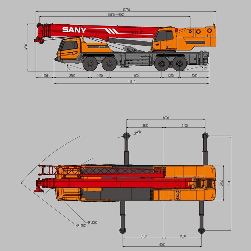 Mobile Crane Rental Malaysia : Sany stc tons low fuel consumption for mobile crane