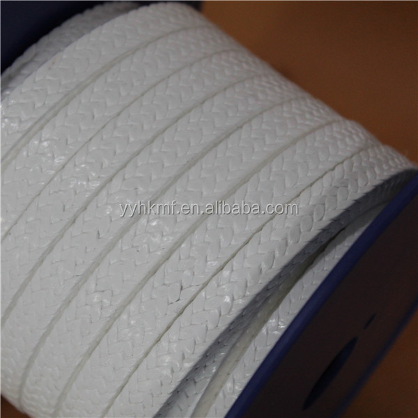 100% Pure PTFE Teflon Without Oil Pump Gland Braided Packing