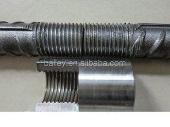 Metal Construction/building Material Rebar Coupler