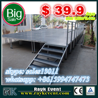 truss sleeve block truss booth portable stage mobile stage concert stage