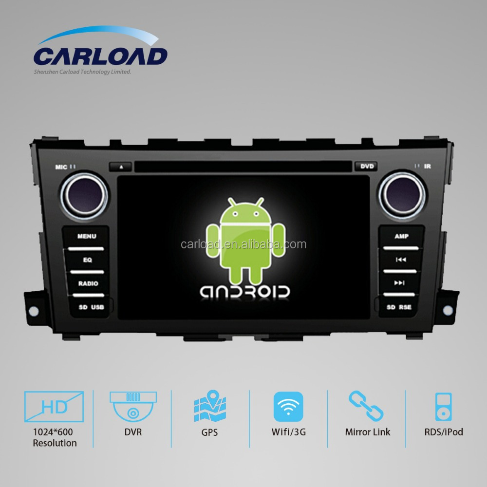 7in Android car DVD for Teana with GPS, ipod, TV, Wifi, 3G functions