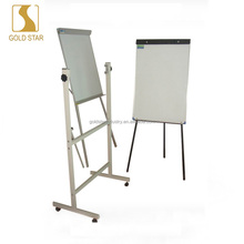 2017 new GOLD STAR magnetic ceramic white board whiteboard with wheels