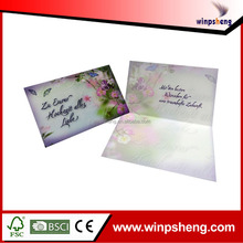 butterfly decoration invitation card/invitation greeting butterfly surface